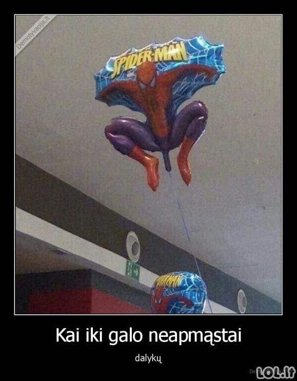 Tobulas balionas vaikams