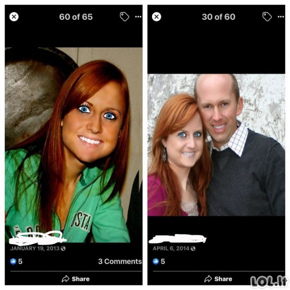 Žmonės, kurie bandė apgauti kitus savo nuotraukomis, bet tik apsijuokė internete