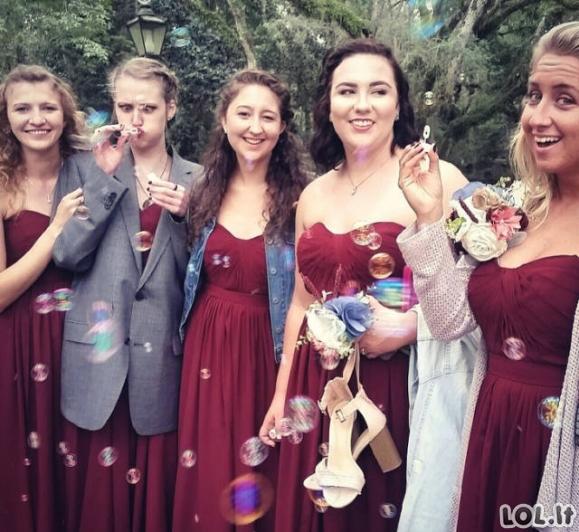 Nuotraukos iš vestuvių, kurios tikrai nebus albume [GALERIJA]