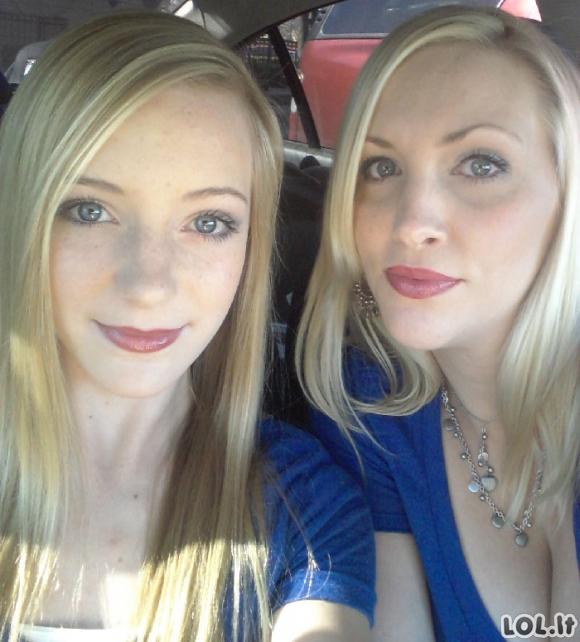 Mamos ir dukros atrodo taip, lyg būtų to paties amžiaus [GALERIJA]