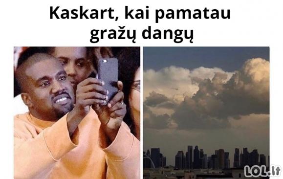 Dangaus fotkinimas