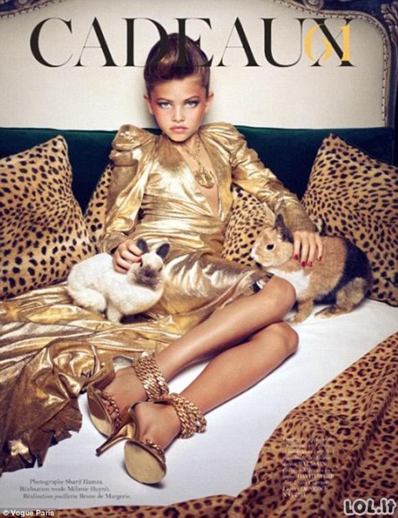 Mergaitė - geriausiai apmokamas modelis pasaulyje