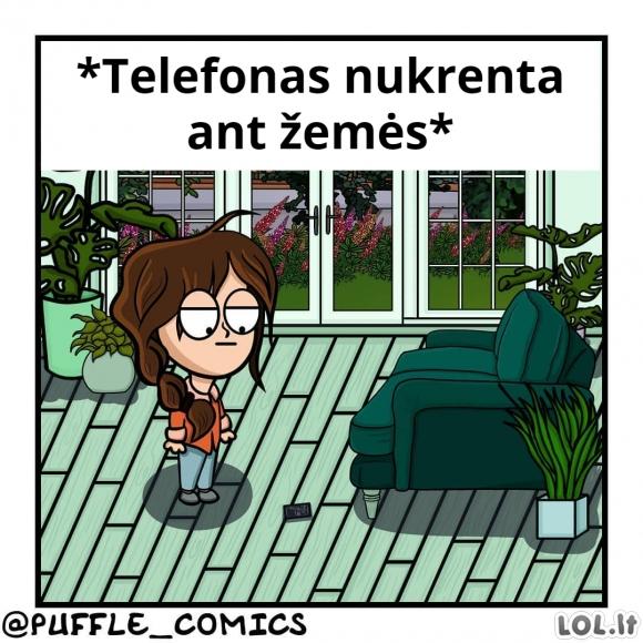 Telefonas - parkūras