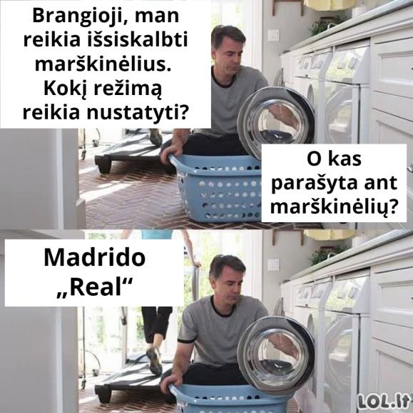 Kaip skalbti marškinėlius
