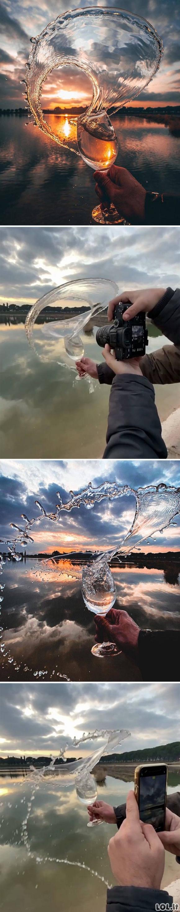 Labai kūrybingos nuotraukos prieš ir po [GALERIJA]