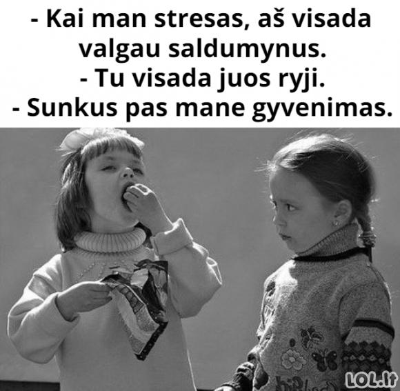 Stresas ir saldumynai