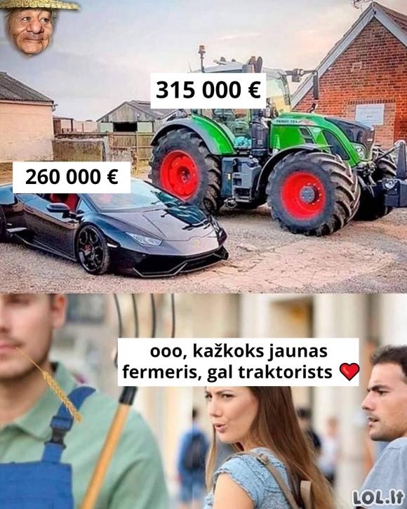 Brangus traktorius