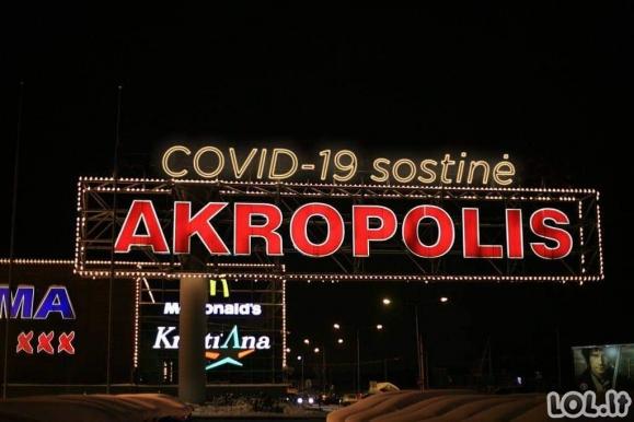 Akropolis ir virusas