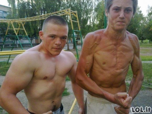 Rusai neturi jokių kompleksų socialiniuose tinkluose [GALERIJA]