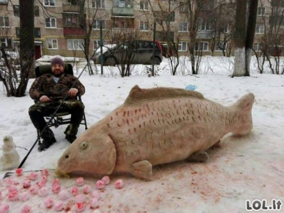 Tuo tarpu Rusijoje galime pamatyti tai [GALERIJA]