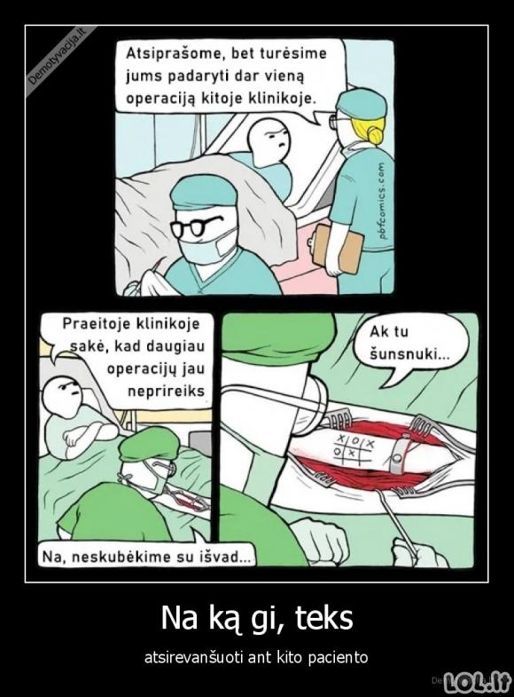 Revanšas su kitu pacientu