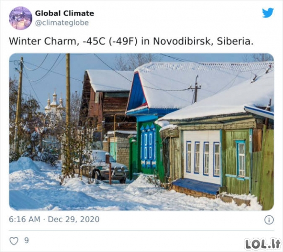 Rusijoje gali būti pakankamai šalta [GALERIJA]