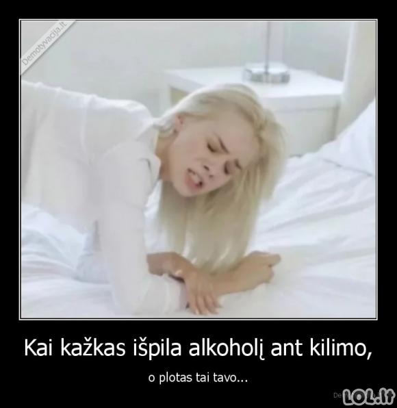 Alkoholis ant kilimo