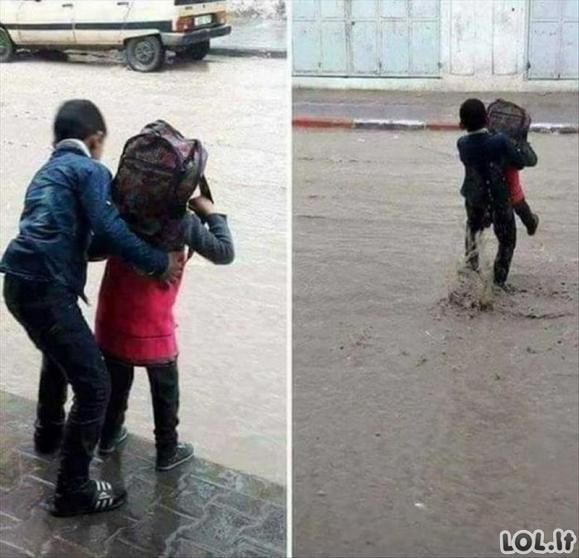 Nuotraukos, įrodančios, jog džentelmeniškumas vis dar egzistuoja mūsų gyvenime