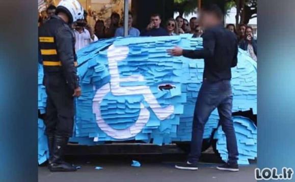 Vairuotojai, kuriems normalus parkavimas yra svetimas dalykas ir už tai buvo nubausti