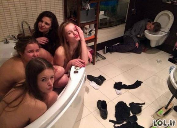 Juokingiausios nuotraukos iš vonios [GALERIJA]