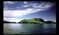 Apleistas kaimas šv. Kildos saloje