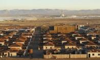 Pamirštas Čilės miestas Humberstone'as