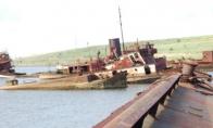 Laivų kapinės Steiteno saloje