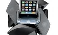 JBL dokai iPod grotuvams ir iPhone telefonams