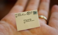Mažiausi pasaulyje laiškai