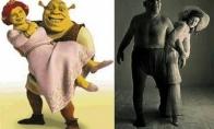 Žinomi išgalvoti personažai, sukurti pagal realių žmonių paveikslą