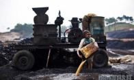 Vaikai - Indijos anglių kasyklose