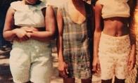 Kas bus su šia mergaite iš kairės po 42 metų ...