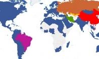 Pasaulio žemėlapiai, kurių neparodys mokykloje