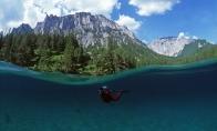 Parkas Austrijoje pusę metų būna po vandeniu