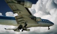 Ekstremalios atostogos po lėktuvo sparnu