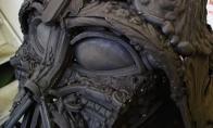 Darto Veiderio biustas iš metalo laužo