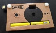 IKEA fotoaparatas iš kartono