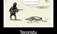 Kaip pasaulį mato teroristai?