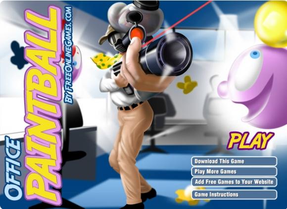 Dienos žaidimas: paintball'as
