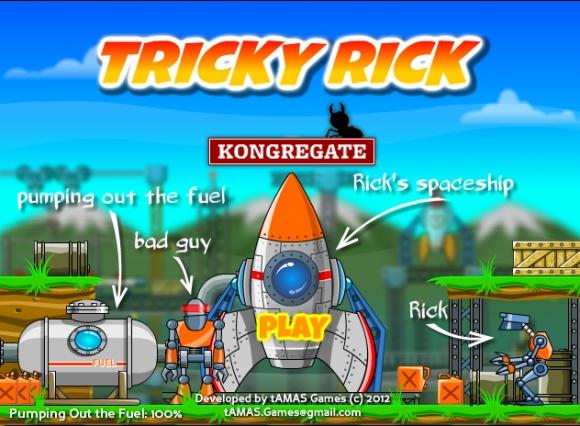 Dienos žaidimas: keistas Rickas