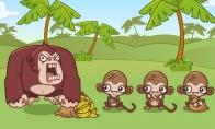 Beždžionės ir bananai