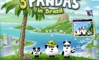 Dienos žaidimas: išgelbėk pandas
