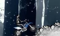 Dienos žaidimas: Žieminis motokrosas