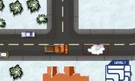 Dienos žaidimas: Sniego valytuvo vairuotojas
