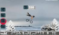 Dienos žaidimas: Žiemiškas pasivažinėjimas dviračiu