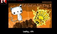 Dienos žaidimas: katinas prieš saulę