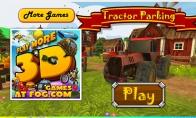 Dienos žaidimas: traktoriaus parkavimas