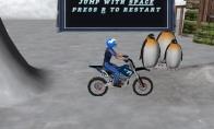 Dienos žaidimas: sniego motociklai
