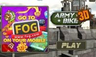 Dienos žaidimas: kariniai motociklai 3D