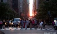 Saulėlydis Manhetene