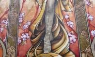 Labai gražus piešinys Monrealyje