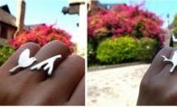Tobulas žiedų dizainas