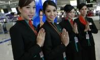 Lėktuvo palydovės tailande