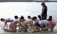 Kaip Kinijoje ruošiamos asmens sargybinės